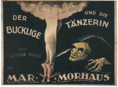Der Bucklige und die Tänzerin (The Hunchback and the Dancer) o el Jorobado y la Bailarina. Una triste historia de amor.