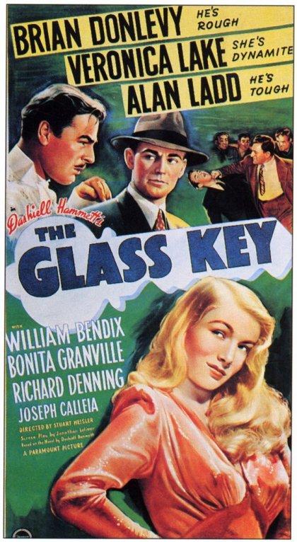 """""""La llave de cristal"""", de Dashiell Hammett. Diálogos jugosos, trama compleja, climas de tensión y violencia."""