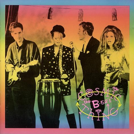 Keith Strickland, Cindy Wilson, Fred Schneider y Kate Pierson. Con todos ustedes ¡¡The B-52's!!