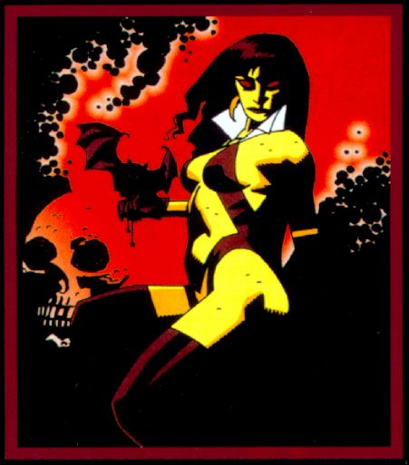 Una versión de 1999 dibujada por Mike Mignola, creador y dibujante de Hell Boy.