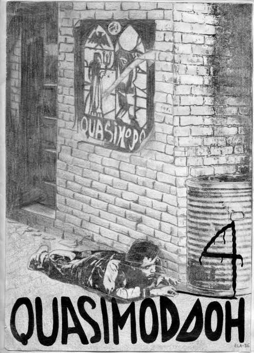 Esta portada de Ela del 86 sugería la lucha y/o el escamoteo. ¡A las barricadas!