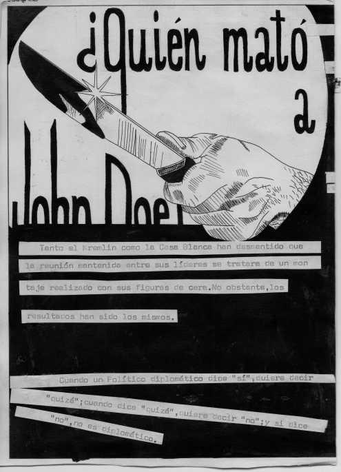 ¿Quién mató a John Doe?  El Rotten no fue, ya que él lo creó. Como siempre brillante.