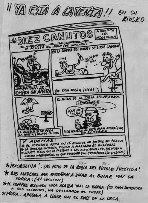 Diez Canutos.  Una pasada, con recuerdos al Angelillo, a JuanAntonio, al Money, a mi ...