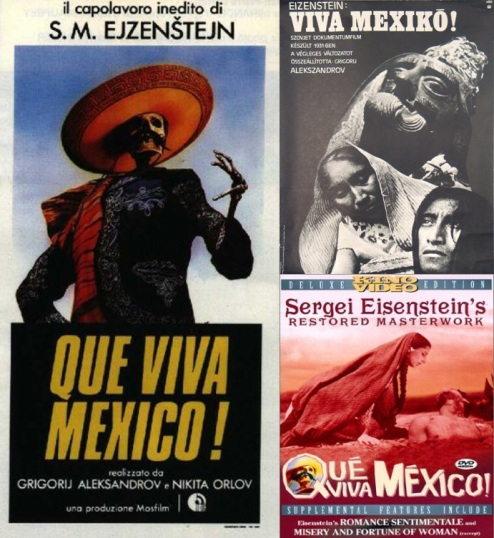 Da zdravstvuyet Meksika!  El matrimonio Sinclair producía esta película Ruso-Mexicana.