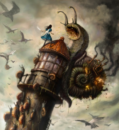 alice-battles-the-snails_project-at-spicy-horse-american-mcgees-alice_2