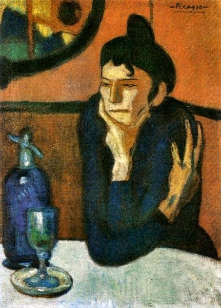 Bebedora de absenta_Picasso_1901