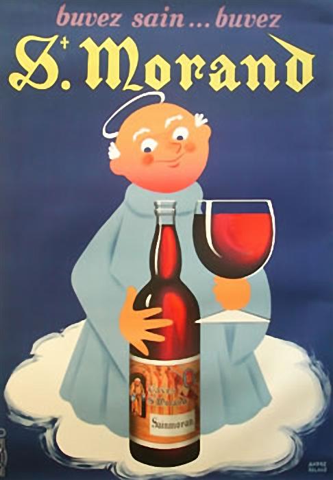 Un vino sin alcohol. Para angelotes entrados en años y que no se bajan de la nube.