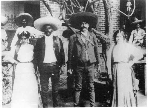 Decía Zapata: Voy a demostrarles a los carrancistas que yo peleo por la Revolución, no por apoderarme de las mujeres.