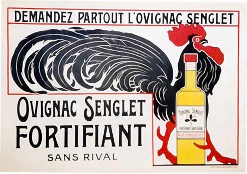 Fortificador a tope. El gallo francés hace frente a cualquier demanda.