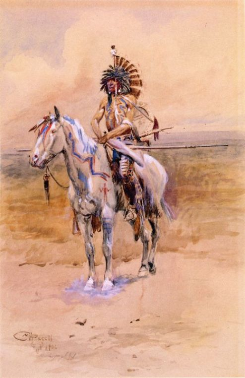 Mandan Warrior