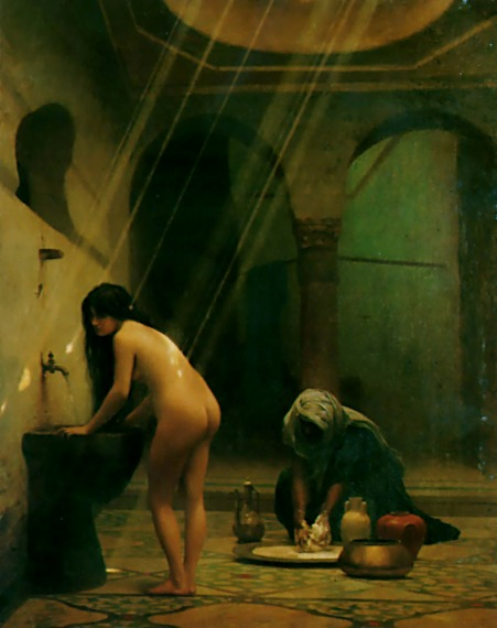 Jean-LeonGerome_A Moorish Bath