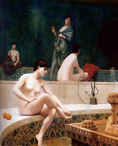 Jean-LeonGerome_Harem Pool 1