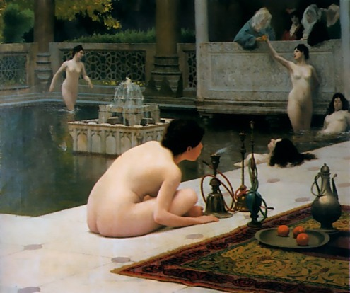 Jean-LeonGerome_The Teaser of the Narghile