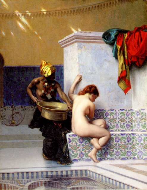 Jean-LeonGerome_Two Women at Turkish Bath