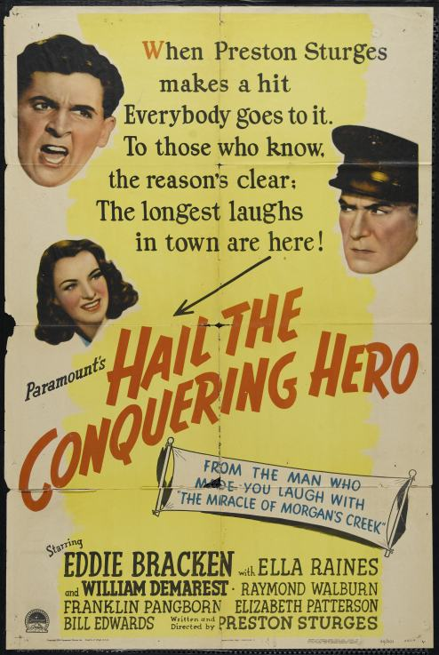 1944 Hail the conquering hero (ing)