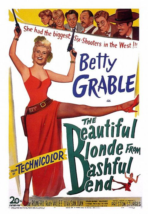 1949 The beautiful blonde from bashful bend (ing) 01