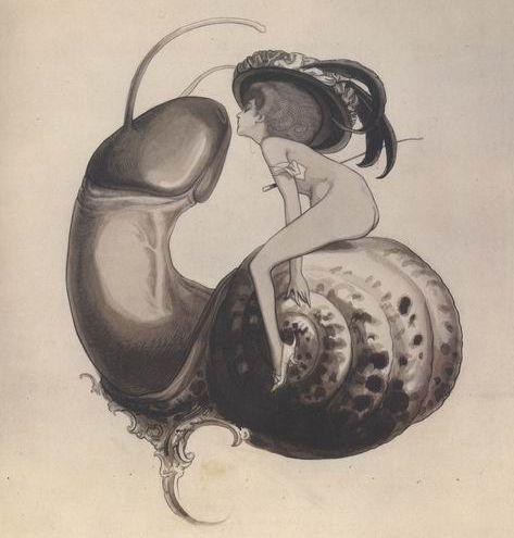 Franz_von_Bayros_Ex-libris_of_Sweet_Snail