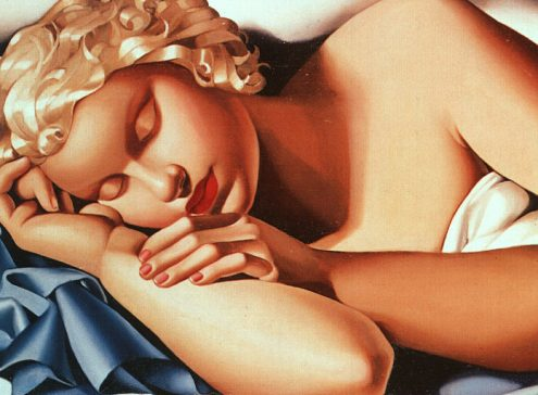 Mujer que duerme. 1935.