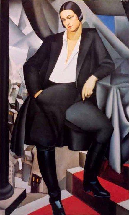 Portrait of the Duchess de La Salle