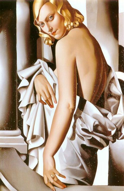 Retrato de Marjorie Ferry