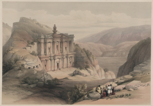 David Roberts - El Deir, Petra
